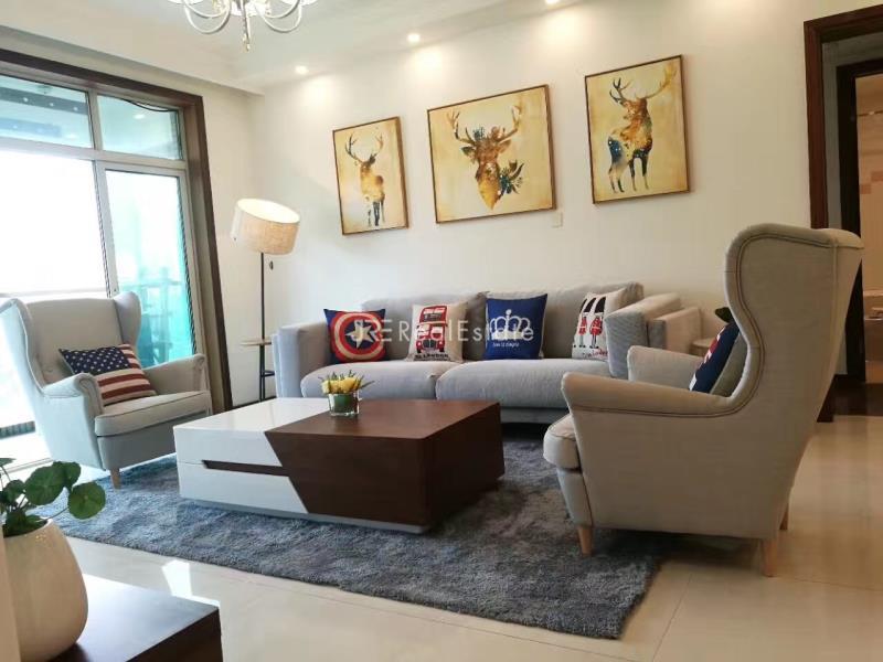 静安区,公寓,2室2厅2卫113平米,RMB       22500.00元/月